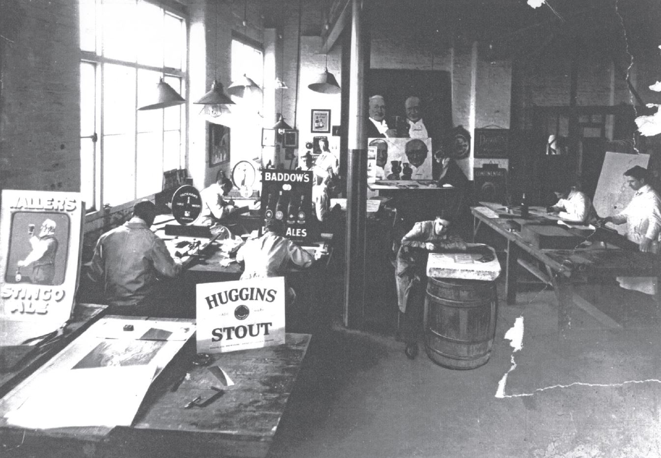 The In-House Design Department Pre WWII