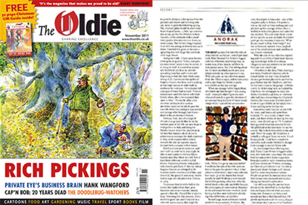 The Oldie Magazine Article